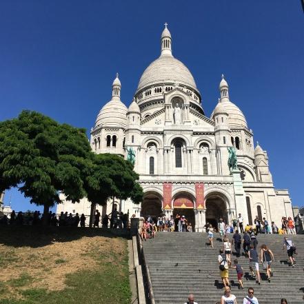 Sacre-Coeur Basilic, Paris, France