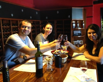 Cycling From Vineyard to Vineyard with Brazilian Friends: Mendoza, Argentina